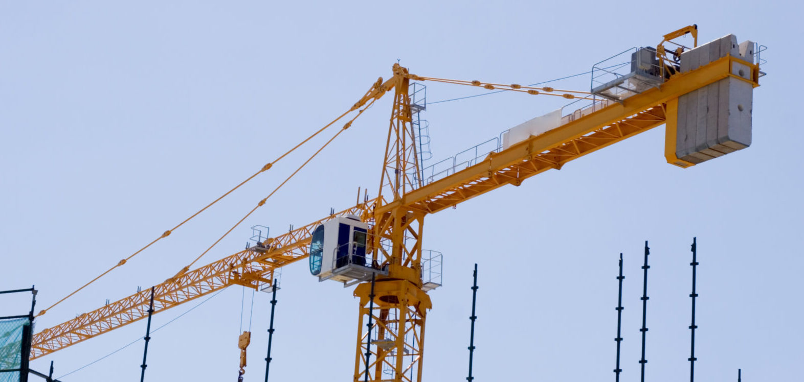 Construction crane day data design for Construction info